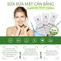 Balancing Facial Cleanser 1 Min
